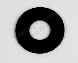 Wisa Outlet Valve Washer (Black)